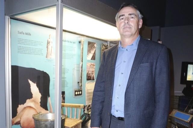 Le président de l'UPA Marcel Groleau, également producteur... (France Lamothe)