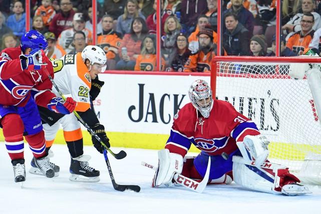 Relisez la couverture en direct du matchentre le Canadien et les Flyers de... (Photo Eric Hartline, USA Today Sports)
