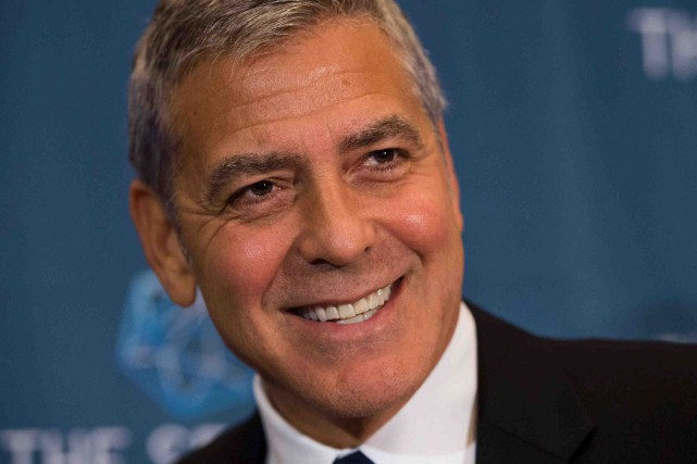 George Clooney... (Archives AFP)