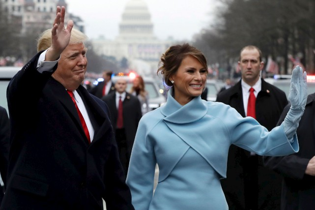 Première dame depuis le 20 janvier, on ne... (Archives AFP)