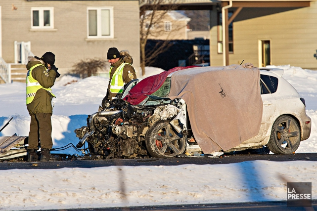Un jeune automobiliste de 18 ans a perdu... (Photo Patrick Sanfaçon, Archives La Presse)