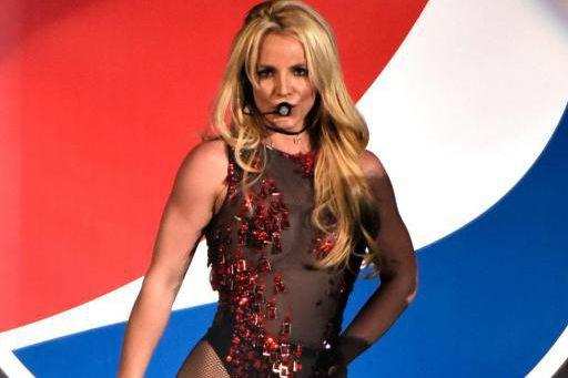 Britney Spears lors d'un spectacle commandité par Pepsi,... (PHOTOROB GRABOWSKI, ASSOCIATED PRESS)