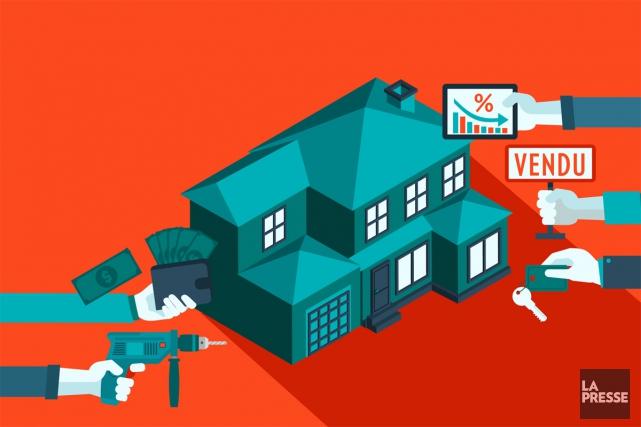 En immobilier, nos décisions s'appuient souvent sur des idées reçues ou des... (ILLUSTRATION LA PRESSE)