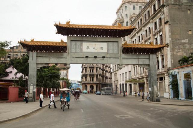 Cuba a entrepris de rénover le Quartier chinois... (Photo Martin Chamberland, La Presse)