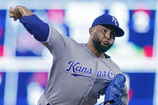 Kelvin Herreraa conservé une moyenne de 2,63 la... (Photo /Jim Mone, Associated Press)