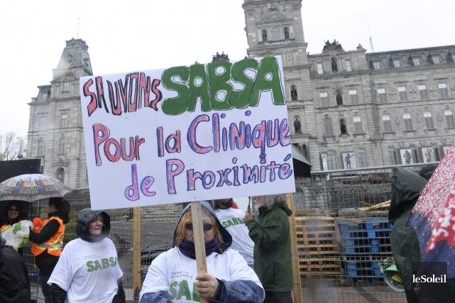 L'an dernier, la clinique d'infirmières SABSA qui suit... (Photo Jean-Marie Villeneuve, achives Le Soleil)