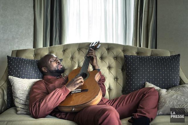 Le rappeur, chanteur, compositeur, musicien et producteurWyclef Jean... (PHOTO ÉDOUARD PLANTE-FRÉCHETTE, LA PRESSE)