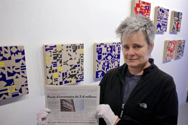 «C'est beau de lire le journal papier, dit... (Photo André Pichette, La Presse)