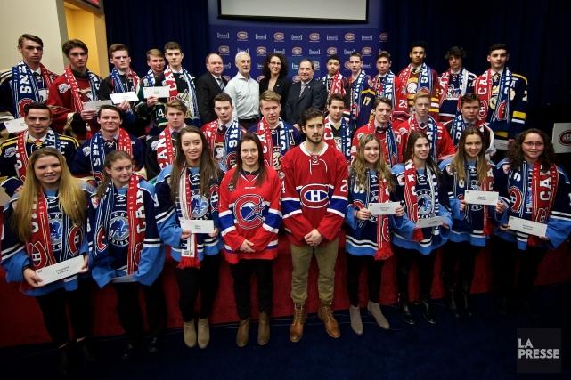 Le Canadien et la Fondation de l'athlète d'excellence... (Photo André Pichette, La Presse)