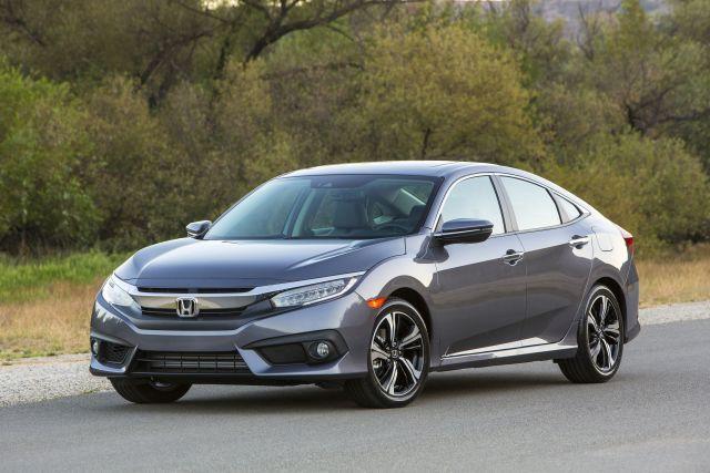 Carole prendra bientôt possession de sa Honda Civic... (PHOTO Honda)