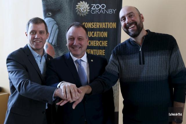 Le directeur du Zoo de Granby, Paul Gosselin,... (Janick Marois, La Voix de l'Est)