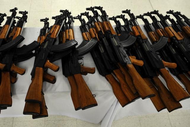 La vente de AK-47 est en hausse à... (Archives AFP)