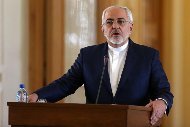 Le ministre iranien des Affaires étrangères, Mohammad Javad... (Photo Archives AP)