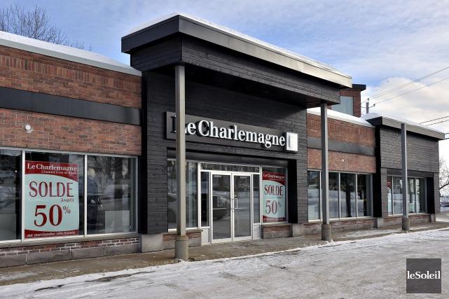 La boutique Le Charlemagne de Charlesbourg... (Le Soleil, Patrice Laroche)