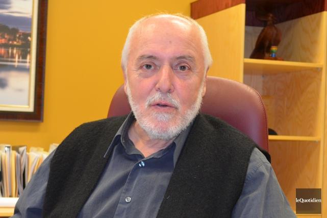 Le maire de Saint-Félicien Gilles Potvin.... (Archives Le Quotidien, Louis Potvin)
