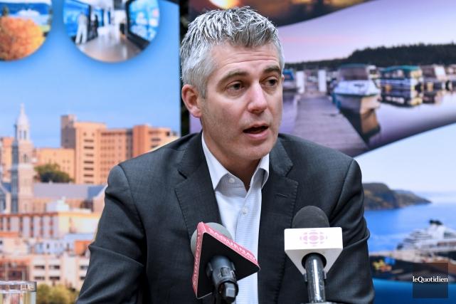 Le conseiller municipal Luc Boivin a annoncé vendredi... (Archives Le Quotidien, Rocket Lavoie)