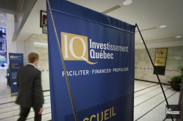 Investissement Québec a annoncé vendredi un prêt de 950 000 dollars à... (Archives La Presse)