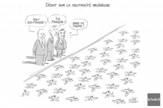 DÉCODAGE / Même lorsqu'elles sont adoptées à l'unanimité, les résolutions de... (Le Soleil, André-Philippe Côté)