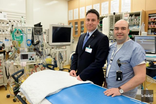 Le directeur des cinq urgences de l'établissement, l'infirmier... (Le Soleil, Jean-Marie Villeneuve)