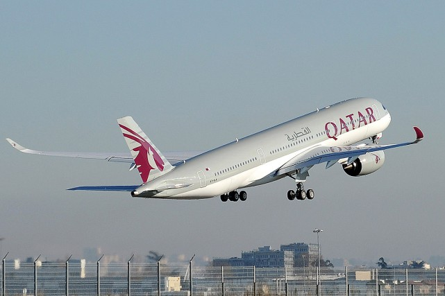 Le site de Qatar Airways indique que la... (PHOTO REMY GABALDA, ARCHIVES AFP)