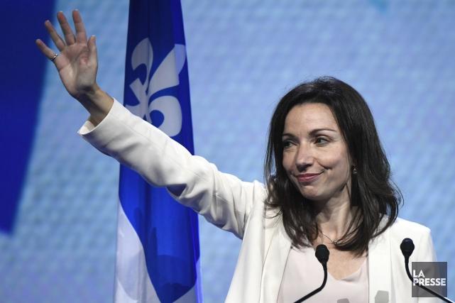 La députée péquiste Martine Ouellet pourrait se lancer... (Archives La Presse, Bernard Brault)