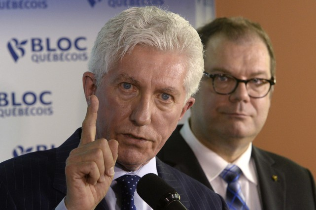 L'ancien chef du Bloc québécois, Gilles Duceppe, a... (Photo Ryan Remiorz, La Presse canadienne)