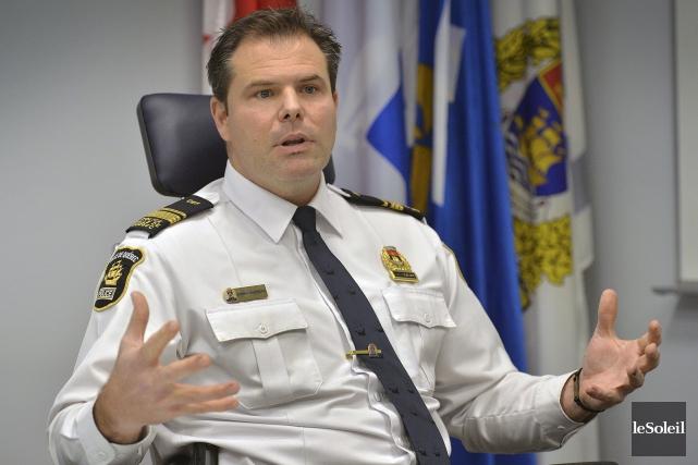«Depuis 10ans, tous les policiers du service doivent... (Le Soleil, Patrice Laroche)