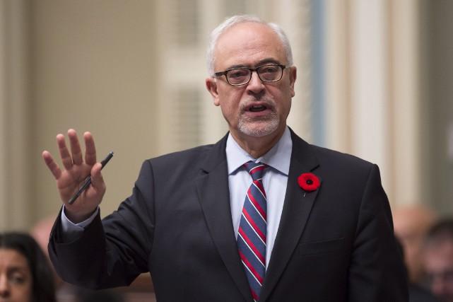 Le ministre des Finances du Québec, CarlosLeitão... (Archives La Presse canadienne)