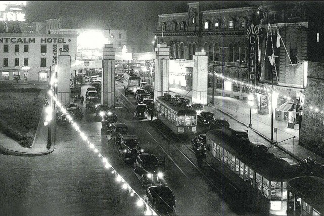La rue Saint-Jean en 1938... (Archives Le Soleil)