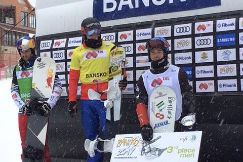 Le Baieriverain Baptiste Brochu (à droite) a savouré... (Photo tirée de Facebook)