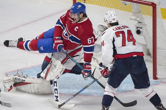 En deuxième période, un but a été refusé... (La Presse canadienne, Graham Hughes)