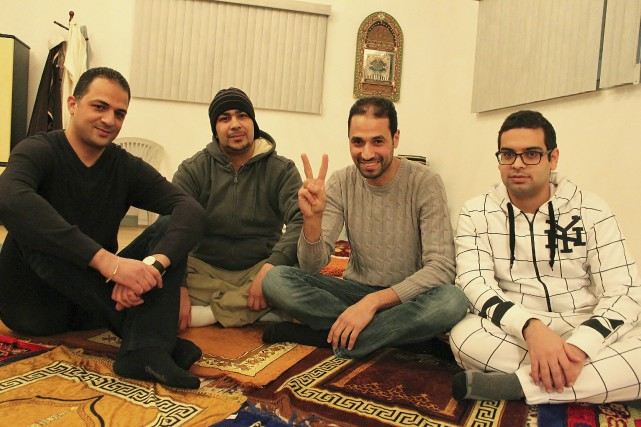 Nizar Aouini, Abdellatif Samir, Nabil Matrajji et Mohamed... (Collaboration spéciale Fanny Lévesque)