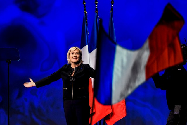 «La France est un acte d'amour, cet amour... (AFP, Jeff Pachoud)