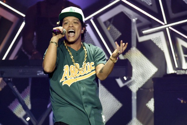 Bruno Mars... (AP, Chris Pizzello)