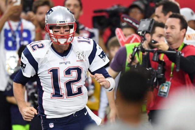 Tom Brady, qui pourrait devenir en cas de... (PHOTO REUTERS)