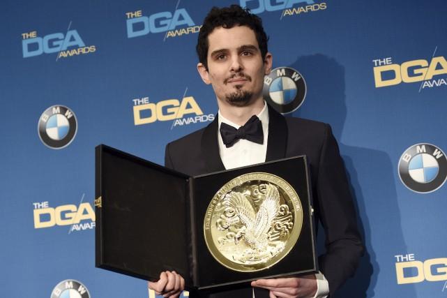 Damien Chazelle a remporté le grand prix du... (Associated Press)