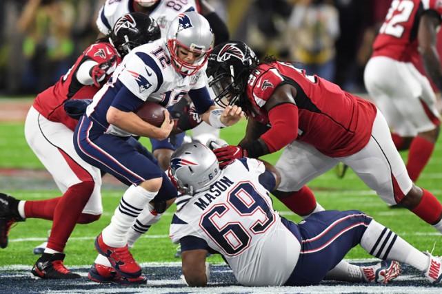 Super Bowl LI : relisez le clavardage du mantch entre les Patriots de la... (PHOTO REUTERS)