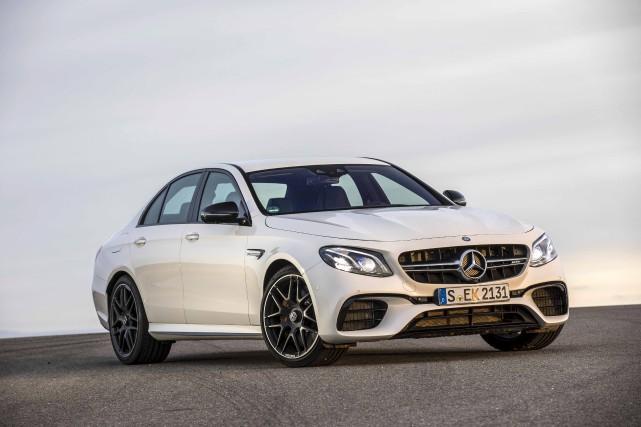 Mercedes E63S 2018... (fournie par Mercedes-Benz)