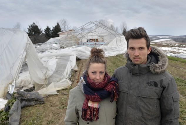 Geneviève Blanchard et Antoine Doyon, propriétaires de la... (Maxime Picard)