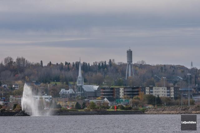 La ville de Saguenay.... (Archives Le Quotidien, Michel Tremblay)