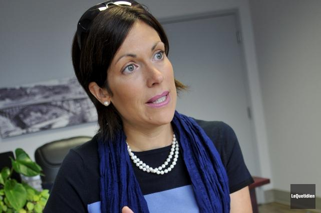 En septembre dernier, la députée de Jonquière, Karine... (Archives Le Quotidien, Rocket lavoie)