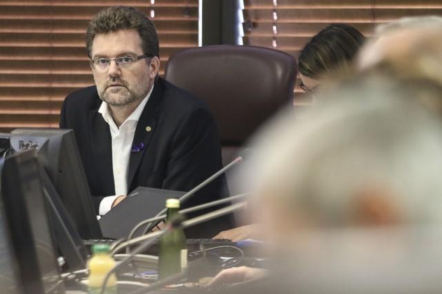 Le maire de Gatineau Maxime Pedneaud-Jobin qualifie d'important... (Patrick Woodbury, archives Le Droit)