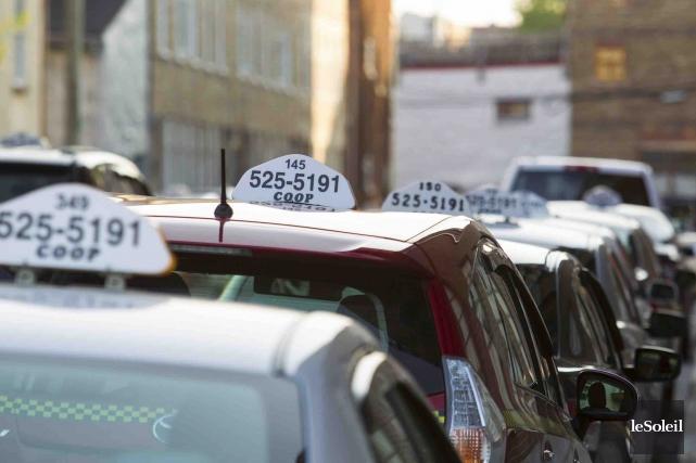 Les chauffeurs de taxi sont reconnaissants de la... (Photothèque Le Soleil)