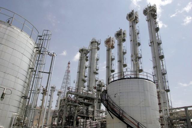 Téhéran a accepté de limiter son programme nucléaire,... (AFP)