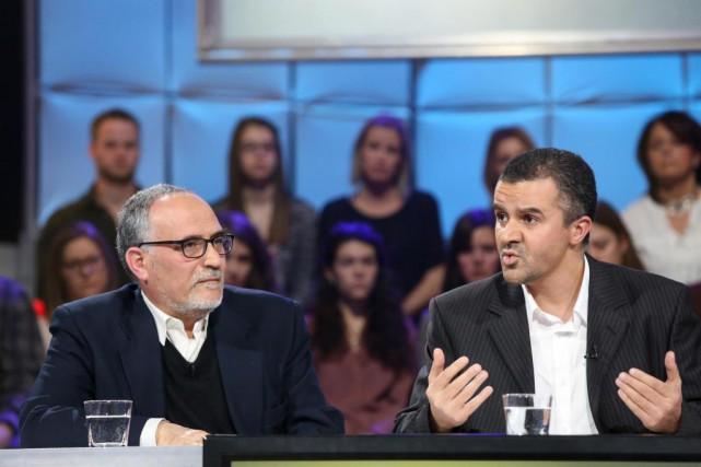 Mohamed Labidi, vice-président du Centre culturel islamique de... (Photo Karine Dufour, fournie par ICI Radio-Canada télé)