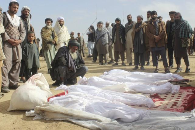 Au total, 11 418 civils ont été tués... (AP)