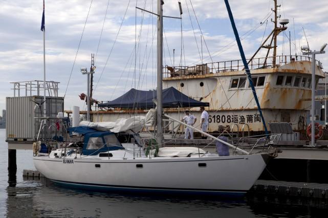 La cocaïne était dissimulée sur un voilier arraisonné... (AFP)