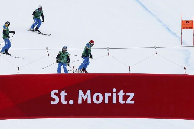 Le mauvais temps a entraîné l'annulation des descentes d'entraînement au... (Photo Denis Balibouse, Reuters)