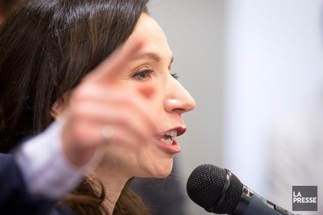 Martine Ouellet a fait connaître sa décision dimanche... (PHOTO OLIVIER PONTBRIAND, LA PRESSE)