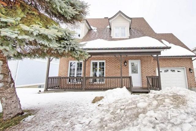 La propriété située dans un secteur résidentiel de... (Photo fournie par Centris)